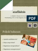 Presentasi Anafilaksis Malik