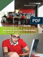 Concepteur Architecte Information