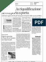 Via Nizza, La Riqualificazione Arriva Porta a Porta
