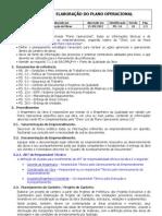 PD 1 0 Elaboração do Plano Operacional V10