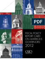 Fiscal Report Card on America's Governors