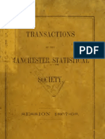 Transactions of the Manchester Statistical Society (1854) [Mills on Credit Panics]
