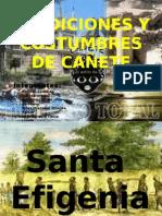 TRADICIONES Y COSTUMBRES DE CAÑETE - HISTORIA