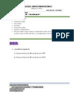 Deber ROBLES 10 de Octubre 2012