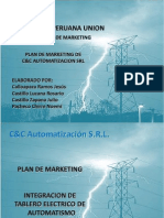 Plan de Marketing c&c 2