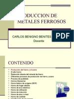 Produccion de Metales Ferrosos