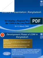 CDM Bangladesh Presentation