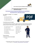 MEI 636 - Formación de Operadores de Maquinaria Pesada (Motonveladoras)