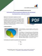MEI 643 - Estadística para Interpretación de Datos