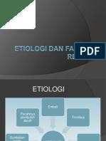 Etiologi Dan Faktor Resiko