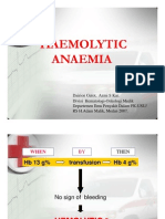 His127 Slide Haemolytic Anaemia