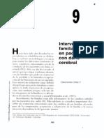 """""""Intervención familiar en pacientes con daño cerebral""""; Claramónika Uribe P."""