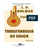 Transferencia de Calor Holman