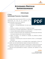 ADM - ATPS - Administracao Financeira e Orcamentaria Sexto Semestre
