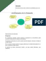 Determinantes de La Demanda1