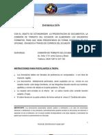 Formularios Cte