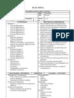 Plan Anual Modelo t -1ro Algebra