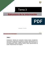 Estructura de La Infomacion