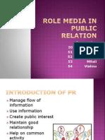 Role Media in Public Relation