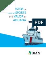 Cartilla Gastos de Transporte en La Aduana