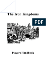 d20 - Iron Kingdoms Players Handbook