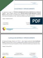 Diplomas Asistencia Terapia Crsa