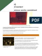 Vandalism of Art