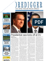 The Oredigger Issue 6 - October 8, 2012