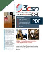 3CSN Newsletter - Fall 2012
