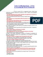 CCENT Practice Certification Exam