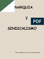 Anarquia y Sindicalismo