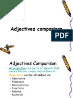 Adjectives Comparison