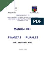 Finanzas Rurales