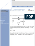 Kirchhoff's Voltage Law (Kvl) _ Divider Circuits and Kirchhoff's Laws