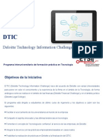 DTIC Deloitte Technology Information Challenge_Oct12