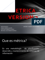Metrica Version 3.1