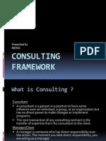 Consulting Framework Bidhu