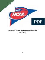 Guia Ncaaf Completa (Hasta SEC)