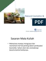 Natural Cosmetics Aromatherapy 1