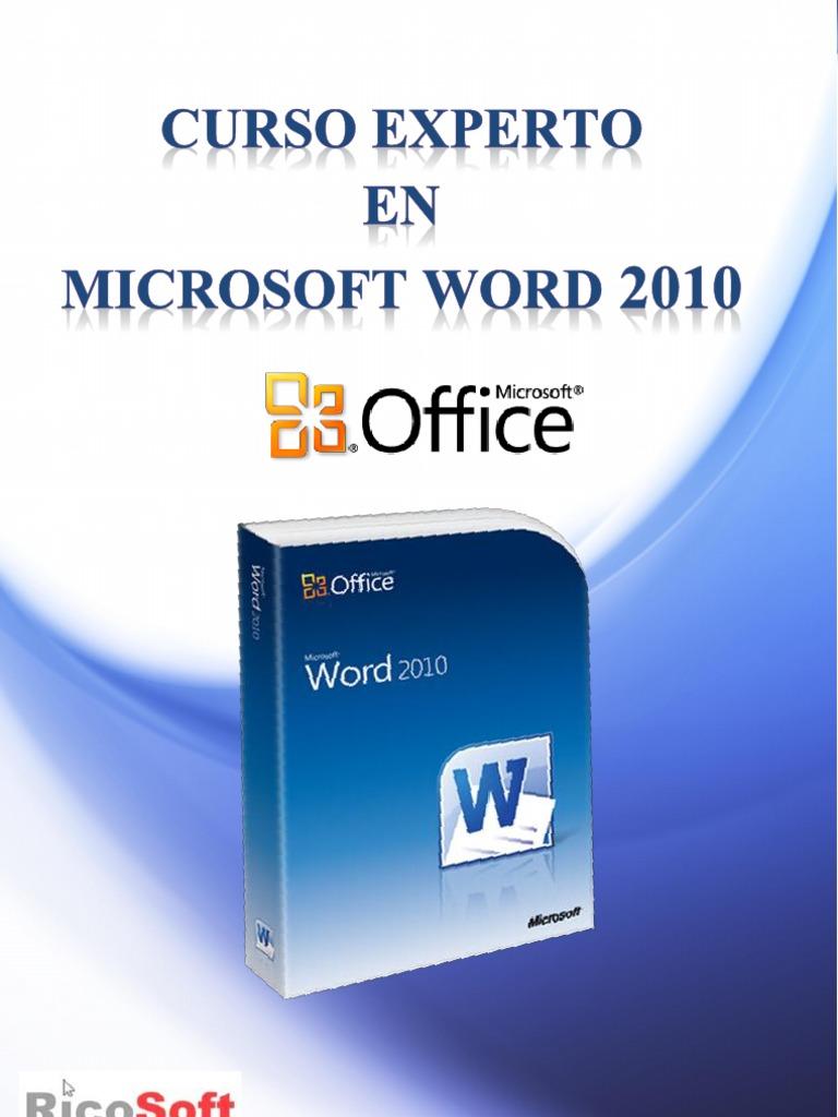 Curso Experto en Word 2010