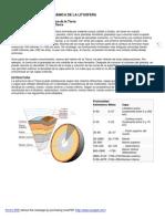 Secuencia didáctica 1 Estructura de la tierra