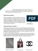 Monogrammes Cours, Analyse et Réalisation