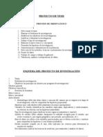 Proyecto de Tesis - Seminario Investigacion