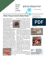 Winter 2005 Kansas Native Plant Society