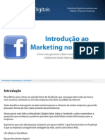 Novo eBook Marketing No Facebook