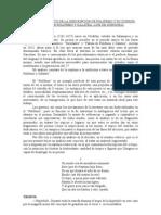 AnÁlisis RetÓrico de La DescripciÓn de Polifemo y Su ZurrÓn