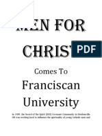 MEN FOR CHRIST at Franciscan University of Steubenville