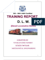 dlw training report, varanasi