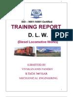 dlw training report, varanasi