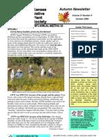 October 2009 Kansas Native Plant Society